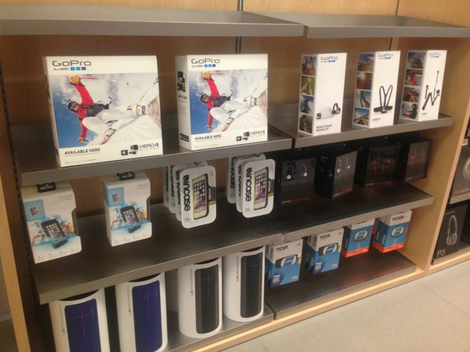 Apple Boxes in store photo